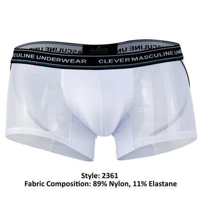 Clever 2361 Nectar Piping Boxer Briefs - Mpire Men