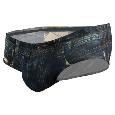 Clever 5201 Denim Jean Latin Brief - Mpire Men
