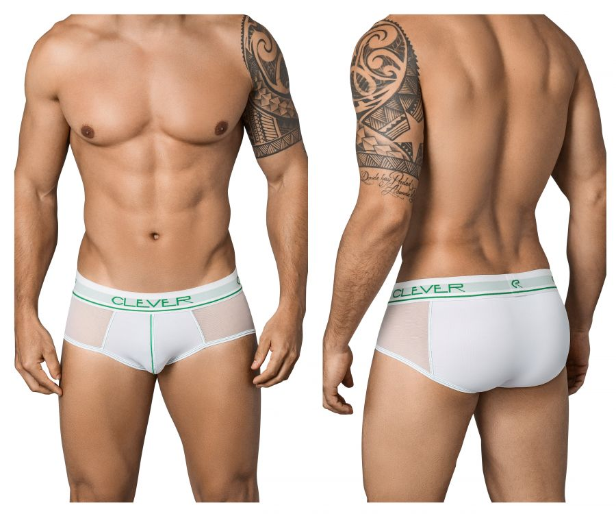 Clever 5353 Radical Piping Briefs - Mpire Men