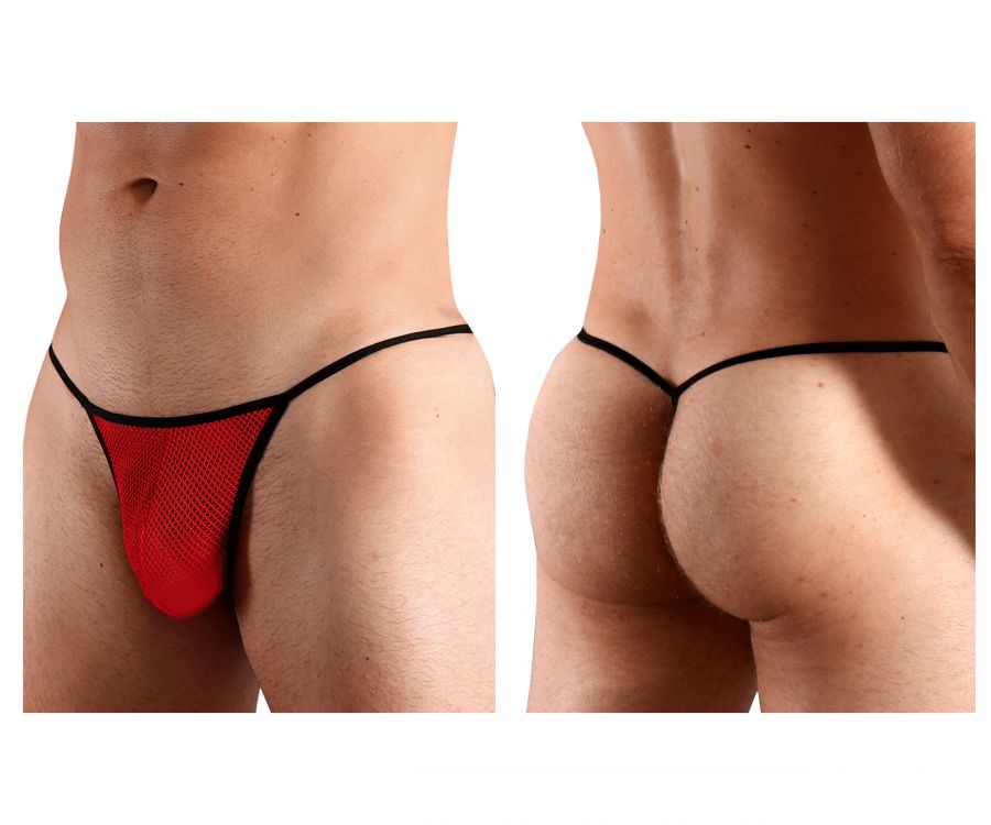 Doreanse 1306-RED Mesh G-String Thong - Mpire Men