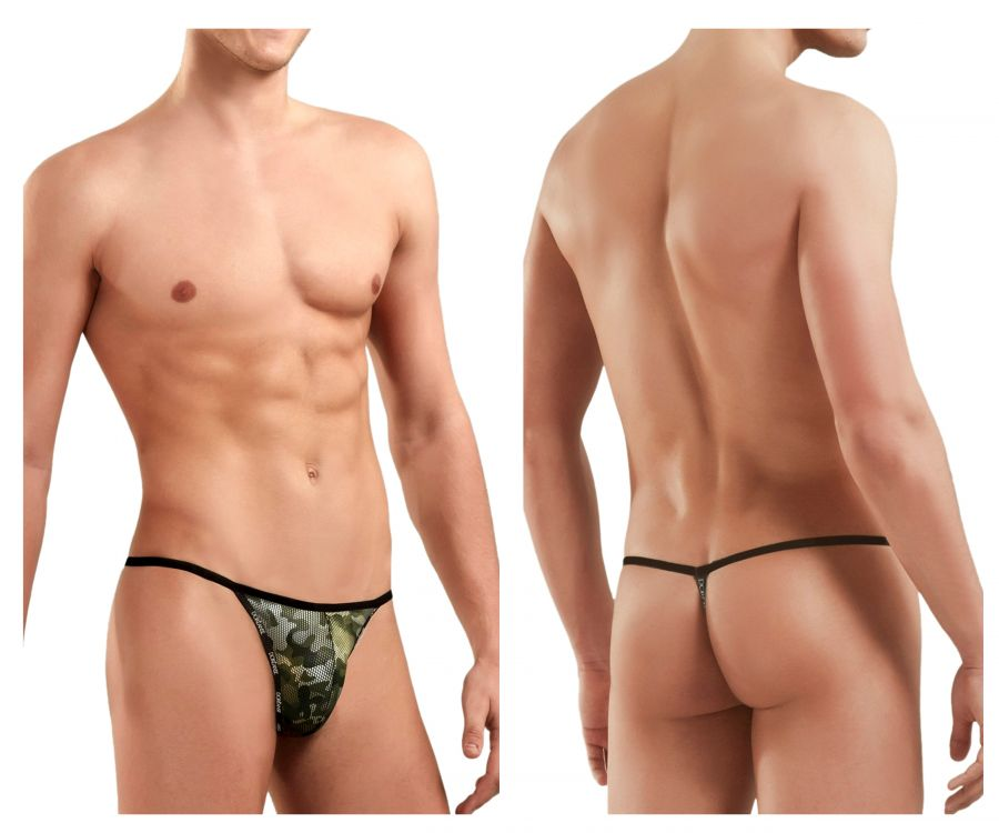Doreanse 1326-CAM Flashy G-String - Mpire Men