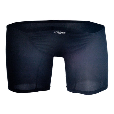 Mens Underwear Boxer Briefs, ErgoWear, ErgoWear EW0222 FEEL Suave Long Boxer Black - Mpire Men's Fashion