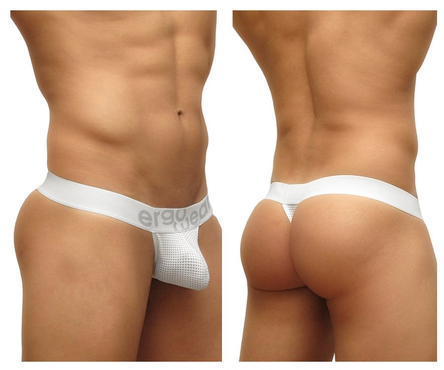 Mens Underwear Thongs, ErgoWear, ErgoWear EW0460 MAX Mesh Thongs - Mpire Men's Fashion