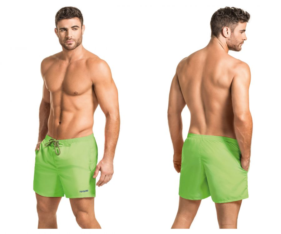 Swimwear Swim Trunks, HAWAI, HAWAI 51806 Swim Trunks - Mpire Men's Fashion