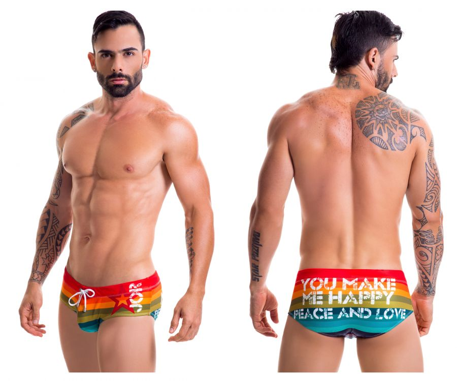 JOR 0417 Pride Swim Briefs - Mpire Men