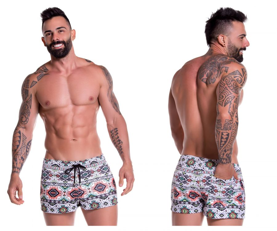 JOR 0773 Tribal Mini Short Swim Trunks - Mpire Men