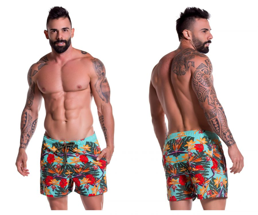 JOR 0774 Garden Short Swim Trunks - Mpire Men