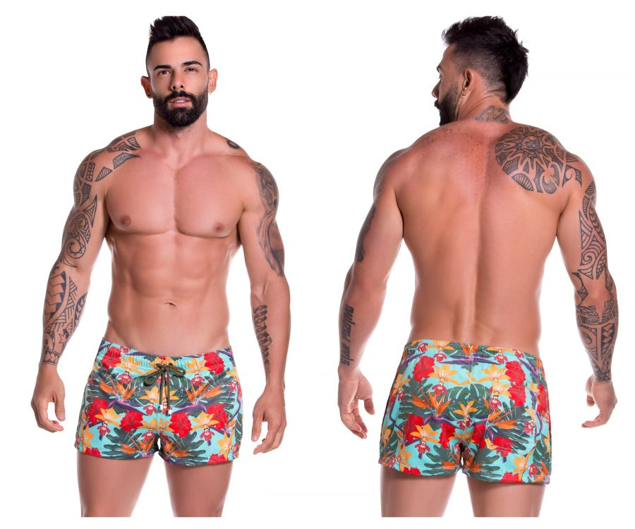 JOR 0775 Garden Mini Short Swim Trunks - Mpire Men