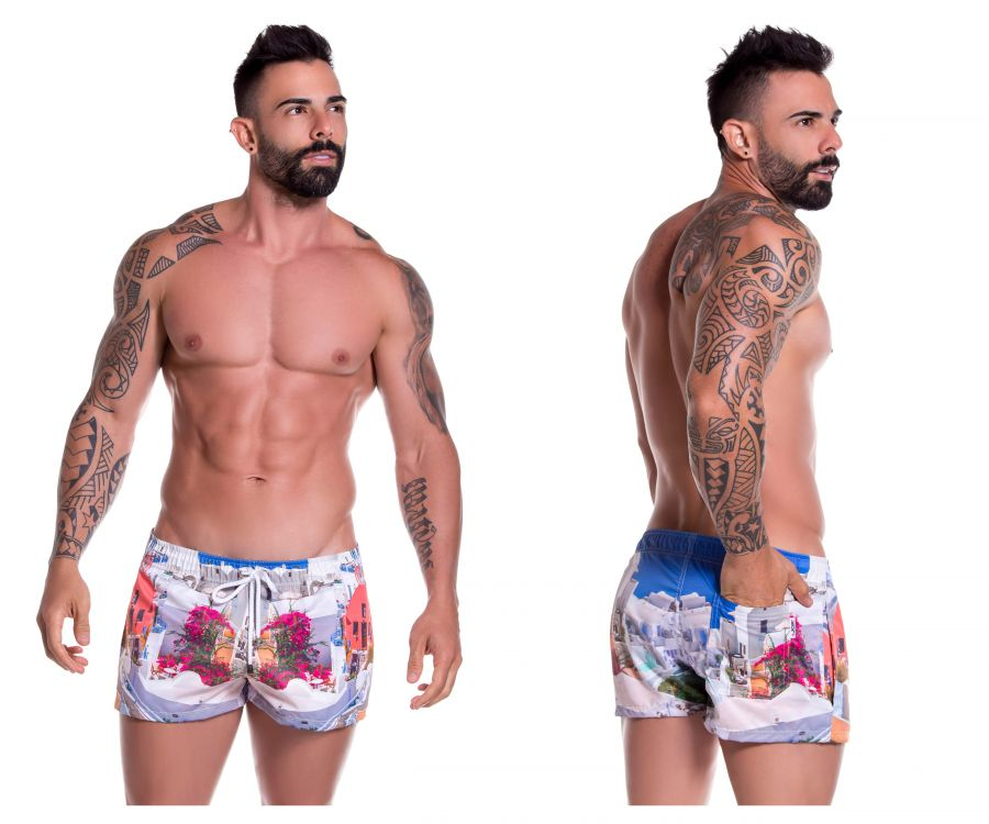 JOR 0777 Mykonos Mini Short Swim Trunks - Mpire Men
