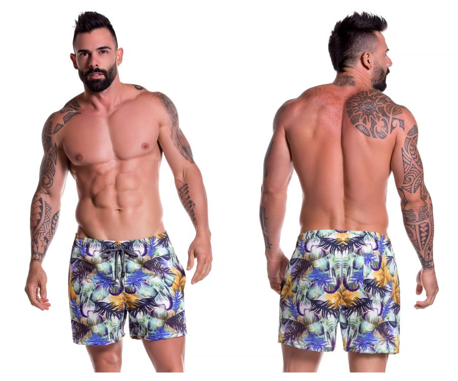 JOR 0778 Congo Short Swim Trunks - Mpire Men