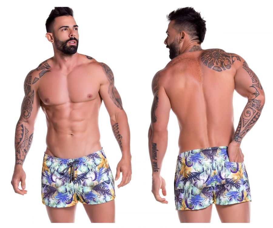 JOR 0779 Congo Mini Short Swim Trunks - Mpire Men