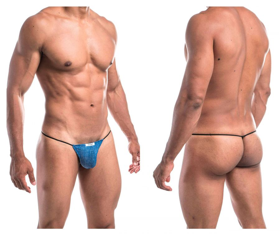 Joe Snyder JS02-Denim Denim G-String