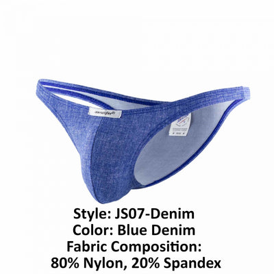 Joe Snyder JS07-Denim Denim Capri