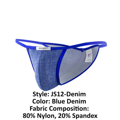 Joe Snyder JS12-Denim Denim Kini - Mpire Men