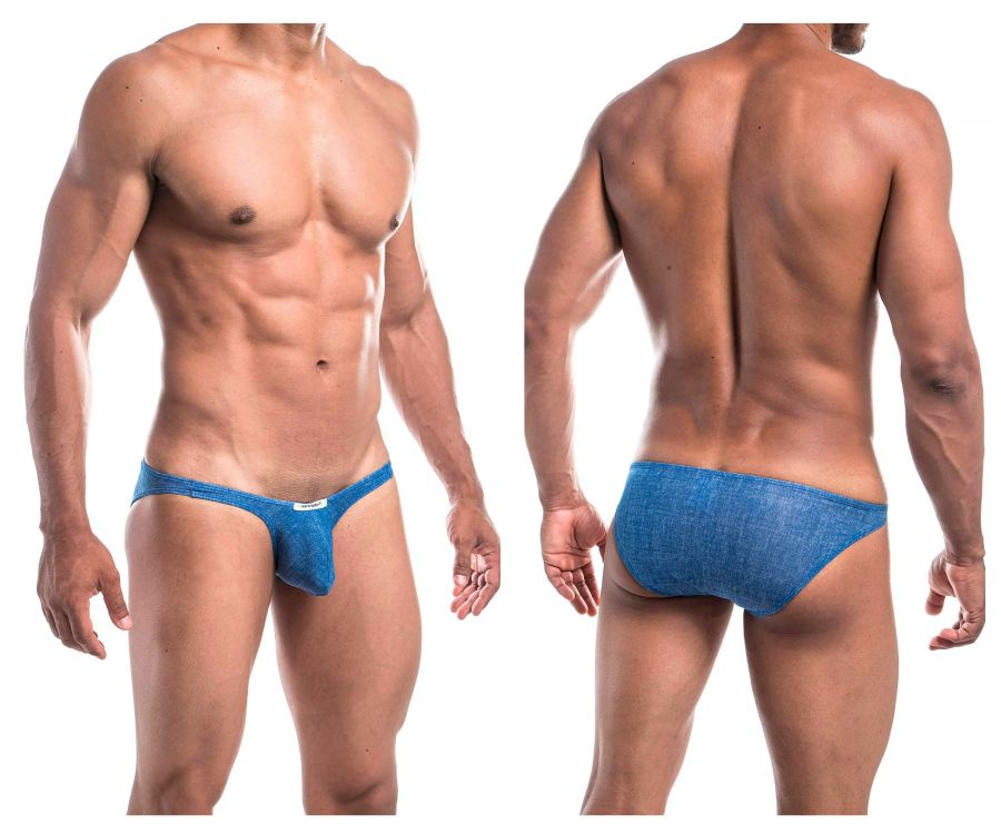 Joe Snyder JSBUL04-Denim Denim Bulge Full Bikini
