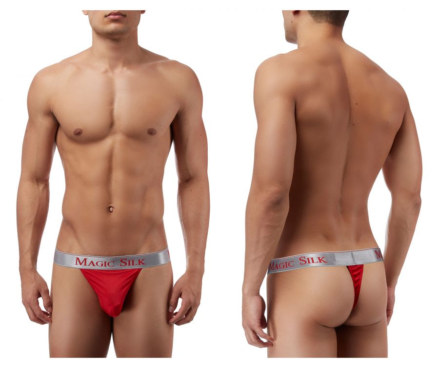 Magic Silk 4586 Silk Knit Micro Thong