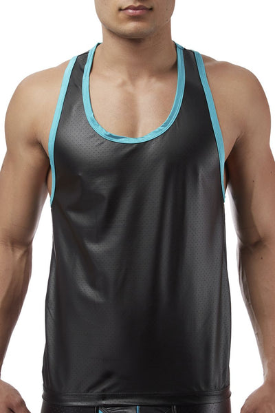Male Power 112233 Lazer Mesh Tank Top - Mpire Men