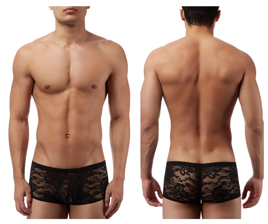 Male Power 145162 Stretch Lace Mini Short Boxer Briefs - Mpire Men