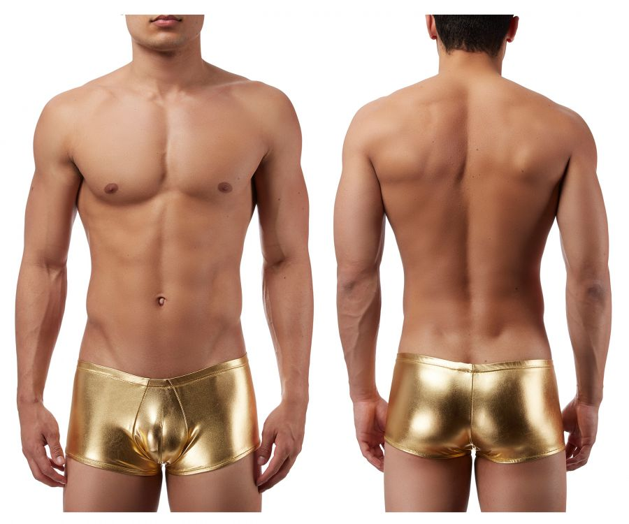 Male Power 153070 Heavy Metal Mini Short Boxer Briefs