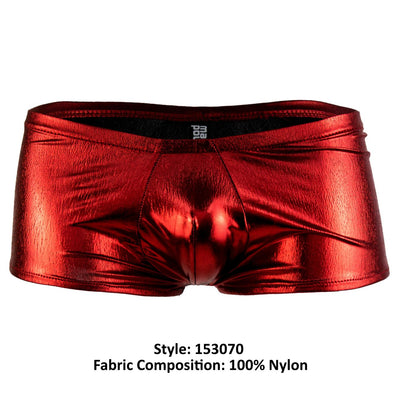 Male Power 153070 Heavy Metal Mini Short Boxer Briefs - Mpire Men