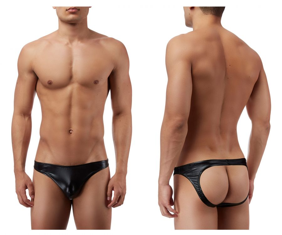 Male Power 300003 Liquid Onyx Moonshine Jockstrap