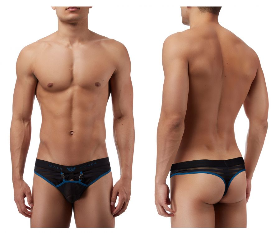 Male Power 415239 Clip Tease Clip Thong