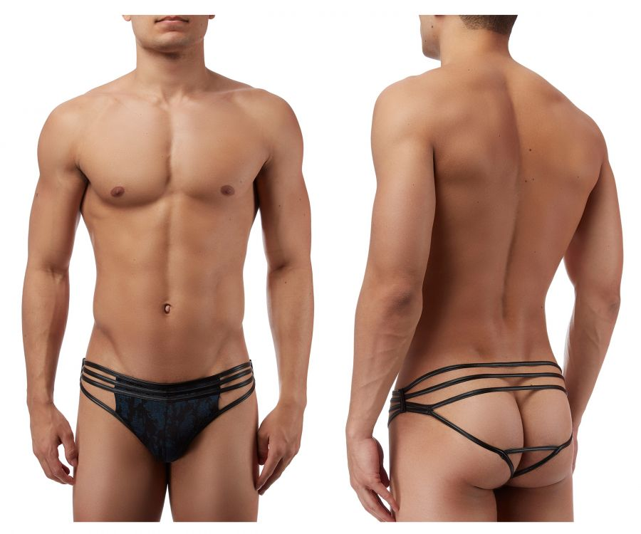 Male Power 419238 Strapped and Bound Strappy Thong