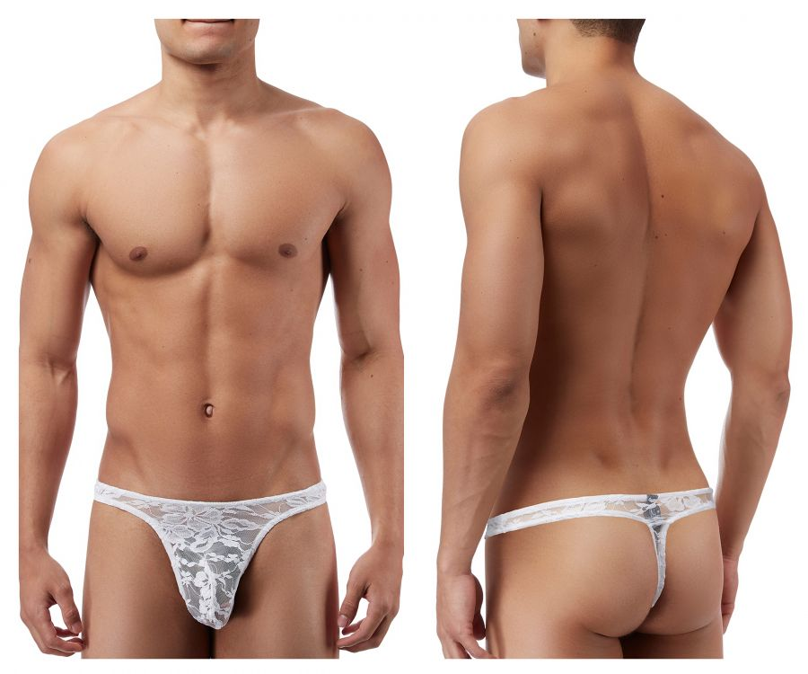 Male Power 442162 Stretch Lace Bong Thong