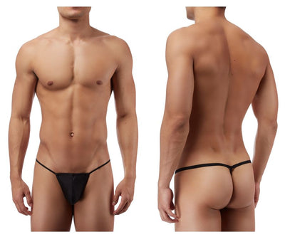 Mens Underwear Thongs, Male Power, Male Power PAK870 Euro Male Spandex Pouch G String - Mpire Men's Fashion