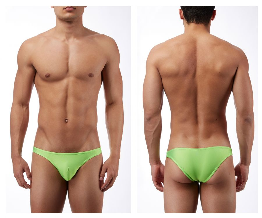 Male Power PAK871 Euro Male Spandex Brazilian Pouch Bikini