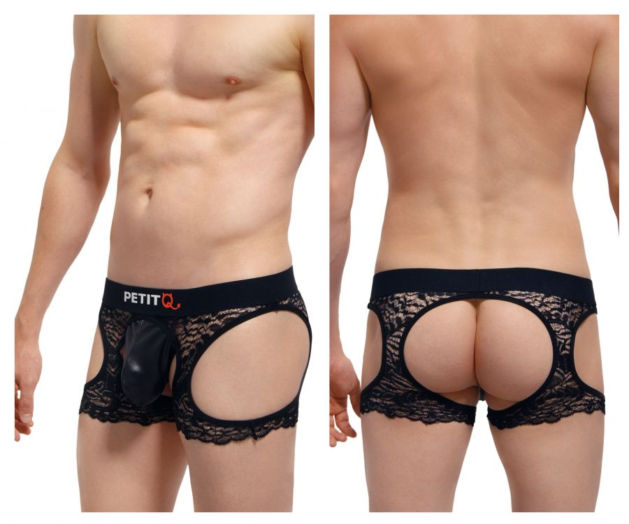 PetitQ PQ170802 Corlier Open Back Boxer Briefs