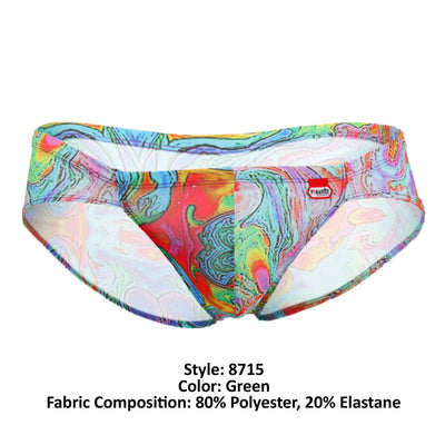 Pikante 8715 Aladin Matrix Briefs - Mpire Men