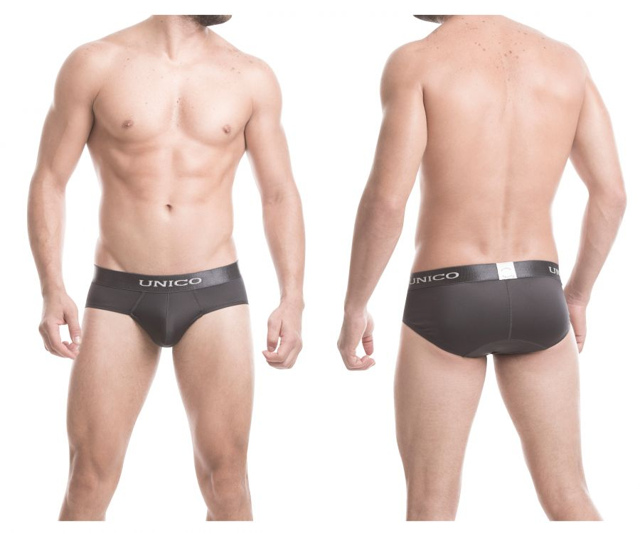 Unico 1600050396 Briefs Asfalto - Mpire Men