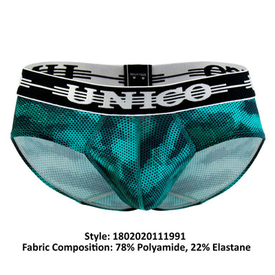 Unico 1802020111991 Briefs Dots - Mpire Men