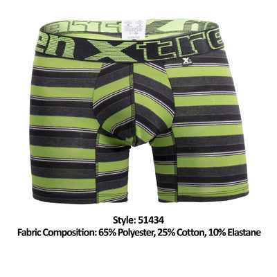 Xtremen 51434 Stripes Boxer Briefs - Mpire Men