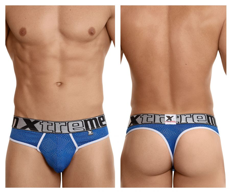 Xtremen 91043 Jacquard Stripes Thongs - Mpire Men