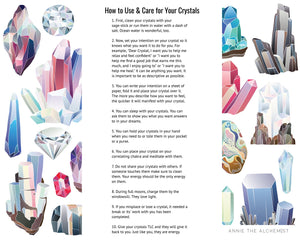 Crystals 101 Guide, How to Use & Care for Them