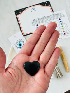 Little Good Vibes With Onyx Heart Crystal Kit