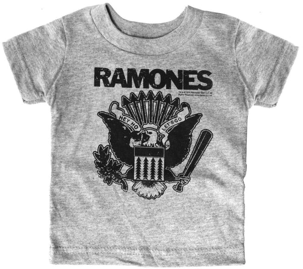 Sourpuss Ramones Hey Ho Gray Kids Tee