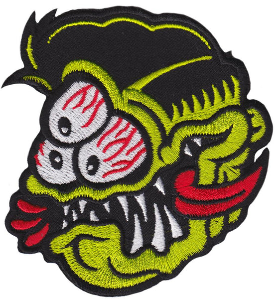 Dumb Junk 3-Eyed Fink Patch