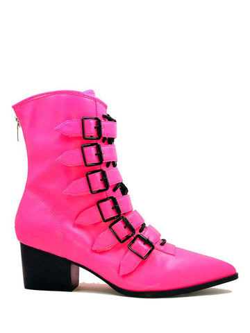 Strangecvlt Coven Boot Hot Pink