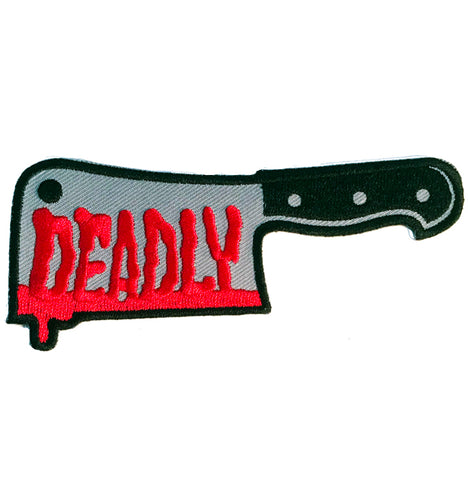 Sourpuss Deadly Clever Patch