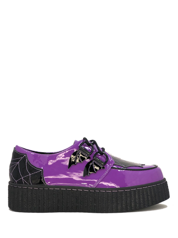 Strangecvlt Krypt Web Purple / Black