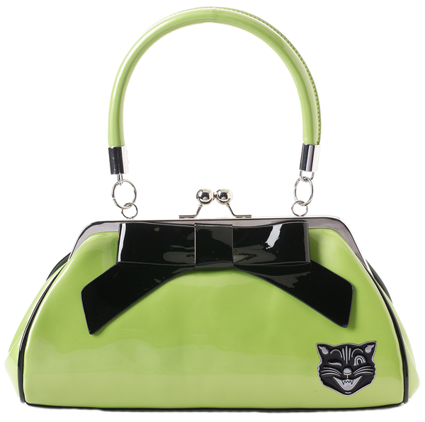 Sourpuss Jinx Floozy Purse Green