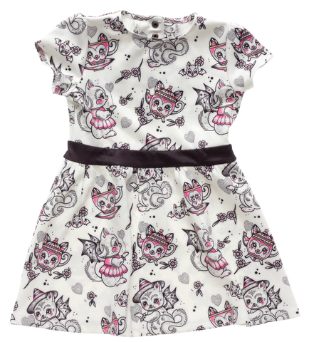 Sourpuss Creep Heart Kids Dress