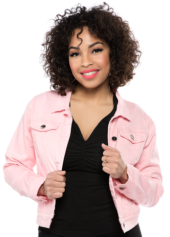 Sourpuss Essential Jacket Pink