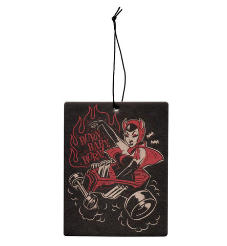 Sourpuss Burn Baby Burn  Air Freshener