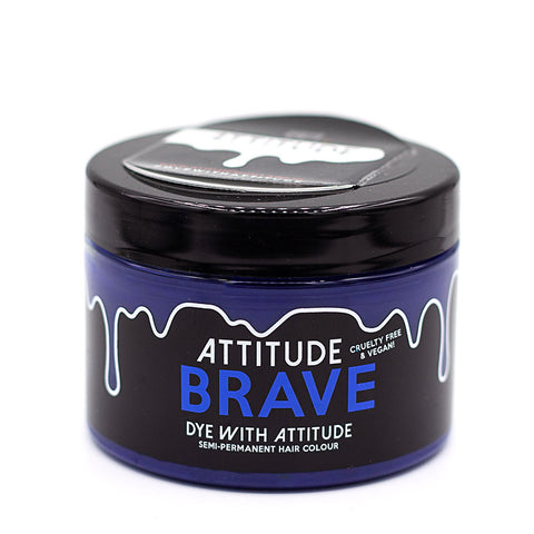 Attitude Hair Dye Semi permanent Hair Dye Brave Blue