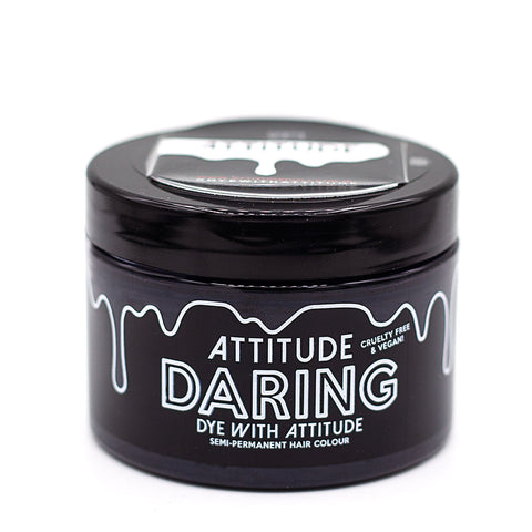 Attitude Hair Dye Semi permanent Hair Dye Daring Black