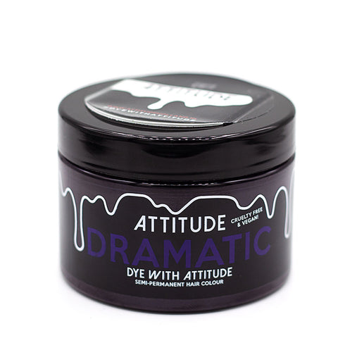 Attitude Hair Dye Semi permanent Hair Dye Dramatic Purple